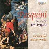 2台のオルガンのためのソナタ集 ルカ・スカンダーリ、アドリアン・ジョルダン