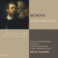 『ファウスト博士』全曲 ケント・ナガノ&リヨン歌劇場、ヘンシェル、ベグリー、他(1997−98 ステレオ)(3CD)