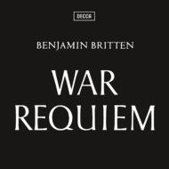 War Requiem : Britten / London Symphony Orchestra, Vishnevskaya, Pears, F-Dieskau, etc (2CD)(+Blu-ray Audio)
