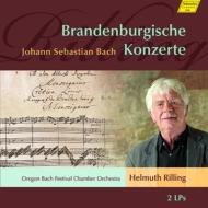 ブランデンブルク協奏曲全曲 リリング&オレゴン・バッハ祝祭室内管弦楽団 (2枚組アナログレコード)