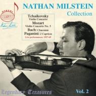 チャイコフスキー:ヴァイオリン協奏曲(マルティノン指揮、1969)、モーツァルト:『トルコ風』(シューリヒト指揮、1961)、他 ミルシテイン