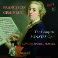 Complete Sonatas Op, 1, : London Handel Players