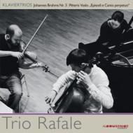 ブラームス:ピアノ三重奏曲第3番、ヴァスクス:エピソードと終わりなき歌 トリオ・ラファール