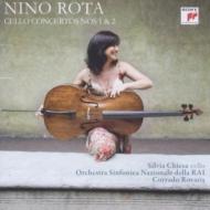 チェロ協奏曲第1番、第2番 シルヴィア・キエーザ、ロヴァリス&イタリア国立放送交響楽団