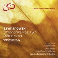 交響曲第3番『夜の歌』、第4番『協奏交響曲』、スターバト・マーテル ゲルギエフ&ロンドン響、マツーエフ、スペンス、他