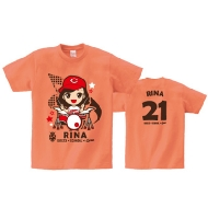 RINA Tシャツ[XL] / SOUND MARINA 2013×SCANDAL×CARP コラボグッズ