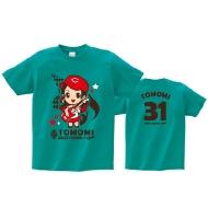 TOMOMI Tシャツ[L] / SOUND MARINA 2013×SCANDAL×CARP コラボグッズ