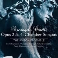 室内ソナタ集作品2、作品4(全24曲) P.ベズノシウク、エイヴィソン・アンサンブル(2SACD)
