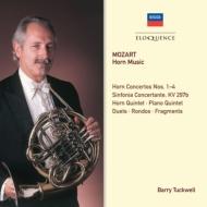 モーツァルト(1756-1791)/Concertos & Chamber Works With Horn: Tuckwell(Hr) Eco Ogdon(P)