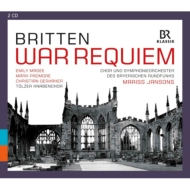 War Requiem : Jansons / Bavarian Radio Symphony Orchestra & Choir, Magee, Padmore, Gerhaher, Tolzer Knabenchor (2CD)