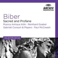 ビーバー(1644-1704)/Sacred & Profane: Goebel / Mak Mccreesh / Gabrieli Consort & Players