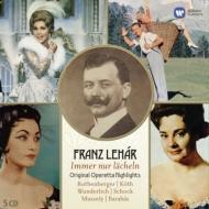 レハール:オリジナル・オペレッタ・ハイライト集 ローテンベルガー、ケート、ヴンダーリヒ、ショック、他(5CD)