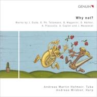 『ホワイ・ノット?〜チューバとハープの二重奏〜マスネ:タイスの瞑想曲、ピアソラ:忘却、テレマン:ファンタジア、他』 ホフマイア、ミルトナー