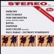 夜想曲(ドビュッシー)、ダフニスとクロエ(ラヴェル):ポール・パレー指揮&デトロイト交響楽団 (180グラム重量盤レコード/Speakers Corner)