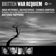 War Requiem: Pappano / St Cecilia Academic O & Cho Netrebko Bostridge Hampson