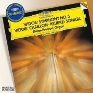 ヴィドール:オルガン交響曲第5番、ロイプケ:オルガン・ソナタ、ヴィエルヌ:ウェストミンスターの鐘 プレストン