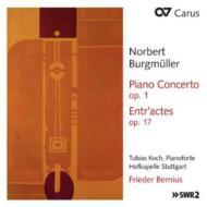 Piano Concerto, Etc: Tobias Koch(P)Bernius / Hofkapelle Stuttgart