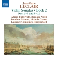 ヴァイオリン・ソナタ作品2 第6、7、9、10、11、12番 バターフィールド、J.マンソン、L.カミングス