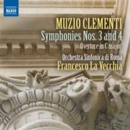 交響曲第3番、第4番、序曲ハ長調 ラ・ヴェッキア&ローマ交響楽団