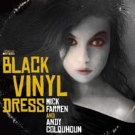 Woman In The Black Vinyl Dress