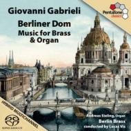 金管楽器とオルガンのための音楽 ベルリン・ブラス、ジーリング