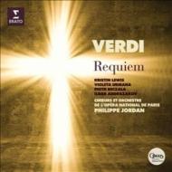 Requiem : P.Jordan / Paris National Opera Orchestra & Choir, K.Lewis, Urmana, Beczala, Abdrazakov