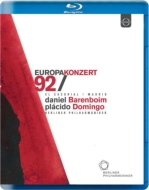 シューベルト:『未完成』、序曲&アリア集(ヴェルディ、ワーグナー、ベルリオーズ) バレンボイム&ベルリン・フィル、ドミンゴ(ヨーロッパ・コンサート1992)