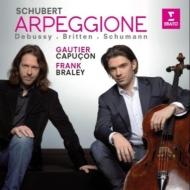 Schubert Arpeggione Sonata, Debussy, Britten, Schumann : G.Capucon(Vn)Braley(P)