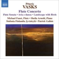 フルート協奏曲、無伴奏フルートのための作品集、他 M.ファウスト、ガロワ&シンフォニア・フィンランディア、他
