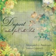 チェロのための21の練習曲集 アレッサンドロ・アンドリアーニ(2CD)