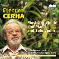 Music For Violin & Piano, Solo Piano: Kovacic(Vn)Hoursiangou(P)