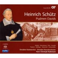 ダヴィデの詩篇歌集 ラーデマン&ドレスデン・バロックオーケストラ、ドレスデン室内合唱団