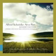 シュニトケ:合唱のための協奏曲、3つの聖なる歌、ペルト:勝利の後 ダイクストラ&バイエルン放送合唱団