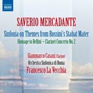 幻想曲『ベッリーニへのオマージュ』、ロッシーニの『スターバト・マーテル』による大シンフォニア、他 ラ・ヴェッキア&ローマ響
