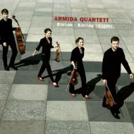 バルトーク:弦楽四重奏曲第4番、リゲティ:夜の変容、クルターク:弦楽四重奏曲 アルミーダ四重奏団