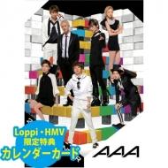 AAA / 2014年カレンダー【Loppi&HMV限定特典付】[2回目受付]