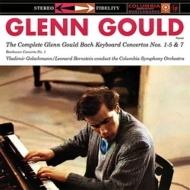 バッハ:ピアノ協奏曲集、ベートーヴェン:ピアノ協奏曲第1番 グールド、バーンスタイン、ゴルシュマン、コロンビア響(3LP)