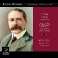 エニグマ変奏曲(エルガー)、他:マイケル・スターン指揮&カンザス・シティ交響楽団 (高音質盤/45回転/2枚組/200グラム重量盤レコード/Reference Recordings)