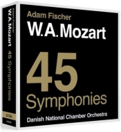 モーツァルト(1756-1791)/Comp. symphonies: A.fischer / Danish Radio Sinfonietta Danish National Co