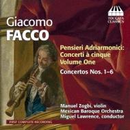 Pensieri Adriarmonici-concertos A Cinque Vol, 1, : Zogbi(Vn)M.lawrence / Mexican Baroque O