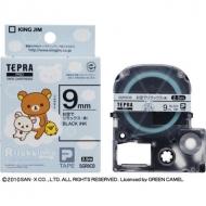 HMV&BOOKS onlineリラックマ/「テプラ」pro テープカートリッジ お空でリラックス(青) / 9mm