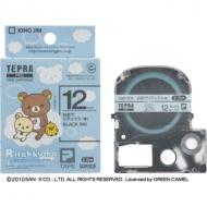 HMV&BOOKS onlineリラックマ/「テプラ」pro テープカートリッジ お空でリラックス(青) / 12mm