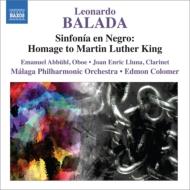 『シンフォニア・エン・ネグロ〜キング牧師へのオマージュ』、『コロンブス』、二重協奏曲 コロマー&マラガ・フィル