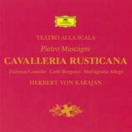『カヴァレリア・ルスティカーナ』全曲 カラヤン&スカラ座、コッソット、ベルゴンツィ、他(1965 ステレオ)
