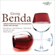 室内楽曲と歌曲集 ベヌッツィ&アンサンブル・アルコメロ、ベルトゥッツィ、ボルゴノーヴォ(6CD)