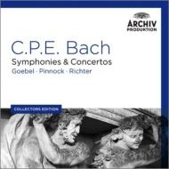 シンフォニア集、協奏曲集、歌曲集、他 リヒター&ミュンヘン・バッハ管、シュタイアー、ピノック、ゲーベル、フィッシャー=ディースカウ、他(6CD)