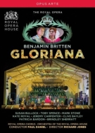 Gloriana : R.Jones, P.Daniel / Royal Opera House, Bullock, T.Spence, P.Bardon, K.Royal, etc (2013 Stereo)(2DVD)