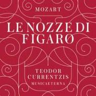 『フィガロの結婚』全曲 クルレンツィス&ムジカエテルナ、ケルメス、ヴァン・ホルン、他(2012 ステレオ)(3CD)(ブック仕様装丁)