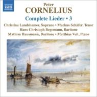 歌曲全集第3集 ランツハーマー、M.シェーファー、ベーゲマン、ハウスマン、ヴァイト