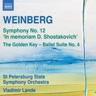 交響曲第12番『ショスタコーヴィチの思い出に』、『黄金の鍵』組曲第4番 ランデ&サンクト・ペテルブルク国立響